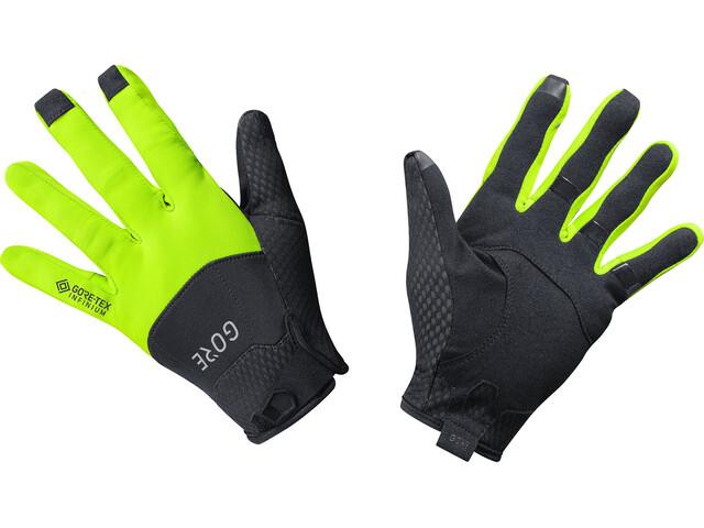 GORE WEAR C5 Gore-Tex Infinium Handschoenen, black/neon yellow